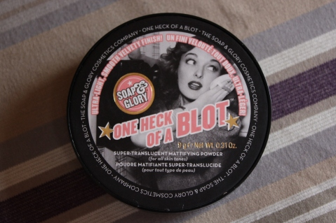 Soap and Glory One Heck of a Blot